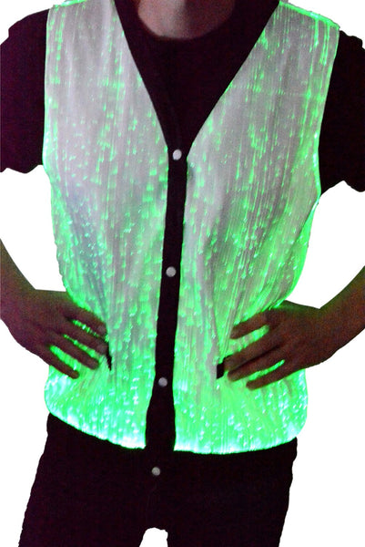 Fiber Optic Light Up Vest