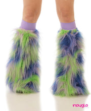 Lunar Fluffies with Lilac knee bands