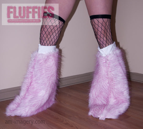 Feather Fluffy Leg Warmers By BB