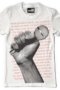 Microphone T-shirt (White)