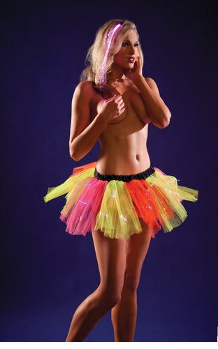 Light-Up Mini Petticoat - Neon Fairy