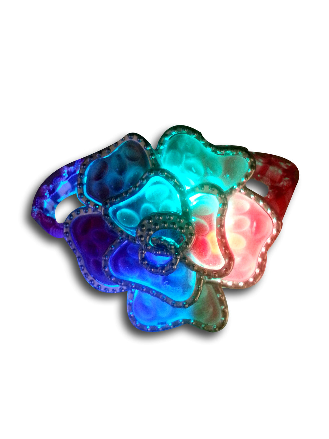 Light up LED Flower Bracelet