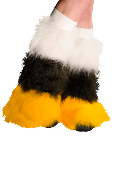 White, Black, & Gold Fluffies 3