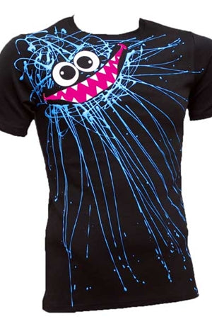 Blue Scribble T-shirt