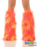 Orange, Pink & Yellow Fluffies