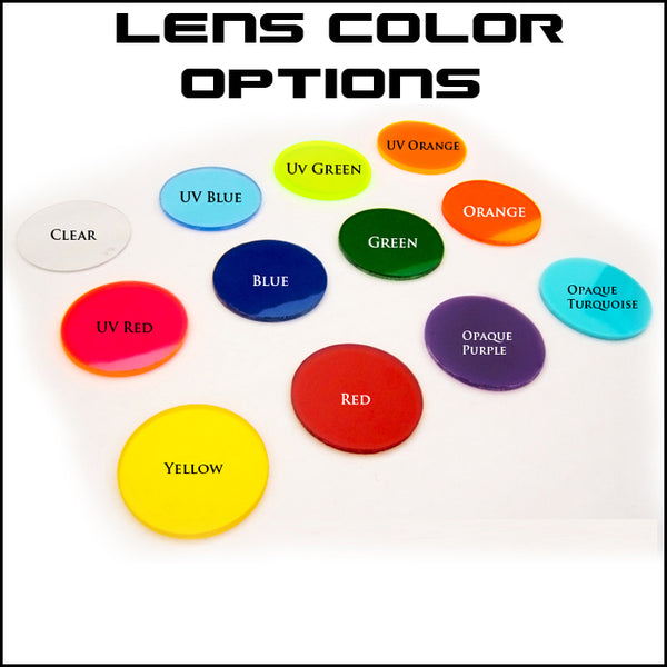 Cyber Goggle Lens Colors