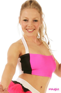 Optional Halter Top in Nitro Hot Pink