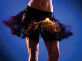 Light-Up Petticoat - Black w/ Orange lights
