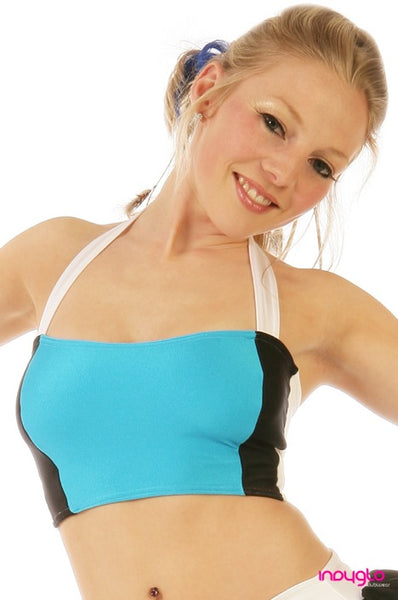 Optional Halter Top in Nitro Turquoise