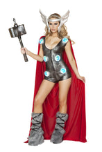 Asgardian Queen Rave Costume Front