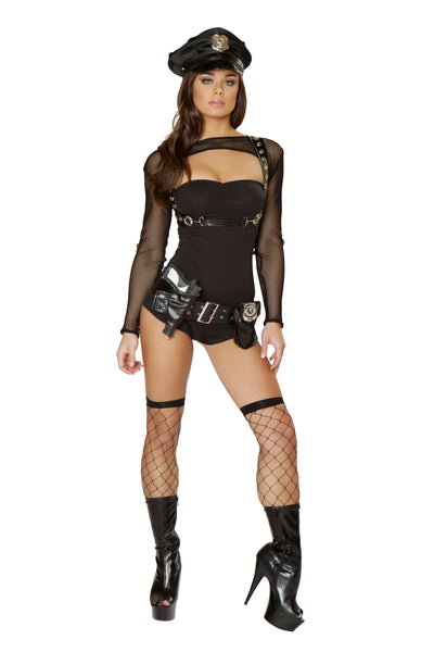 Sexy Bad Cop Halloween Costume Front