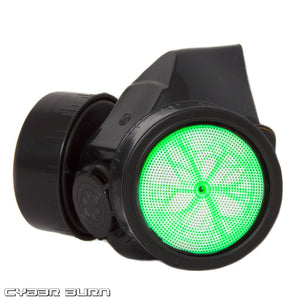 Green Plasma Gas Mask
