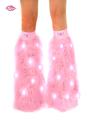 Baby Pink Light-Up Fluffies
