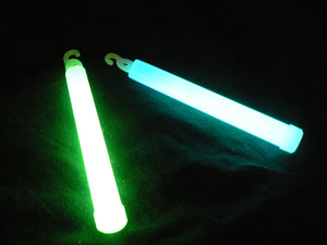 "6"" High Intensity 5 Minute Glowsticks"