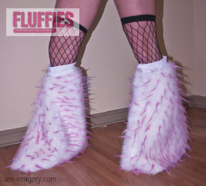 Spiked Fluffy Leg Warmers By BB
