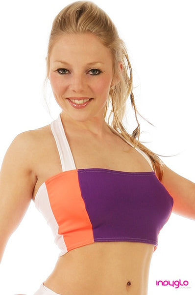 Optional Halter Top in Nitro Purple