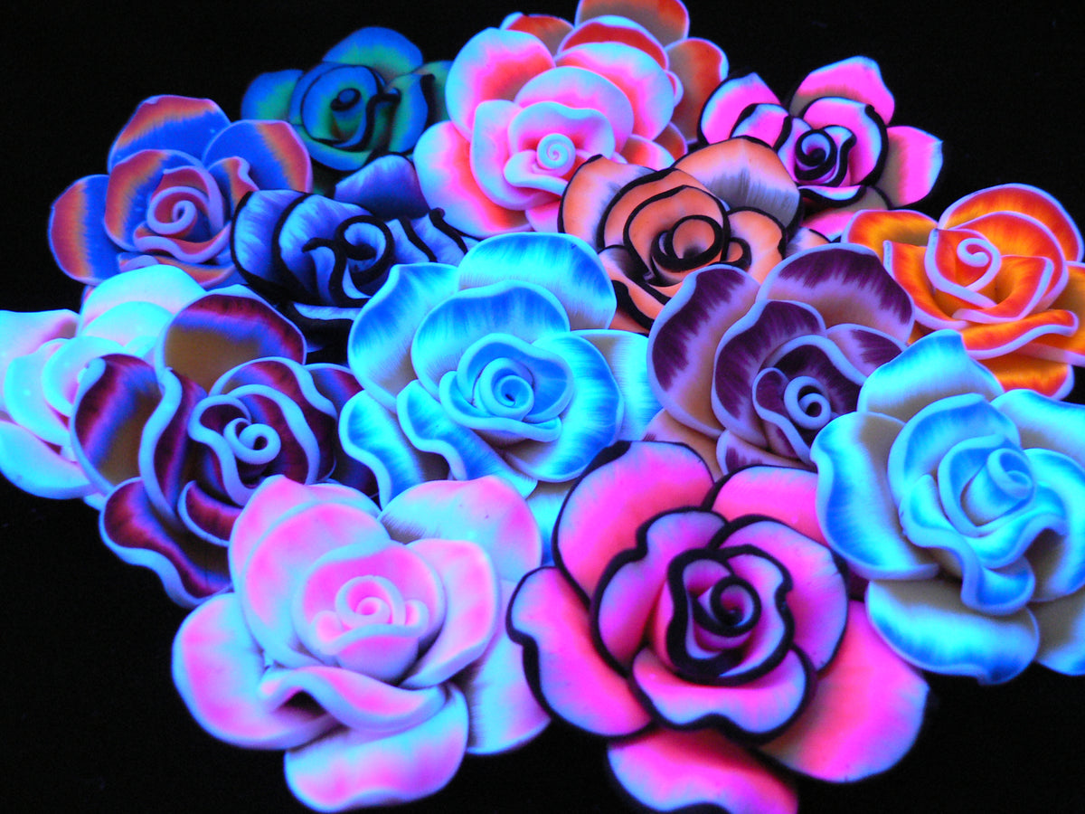Tie dye flowers rave nation for How to make tie dye roses