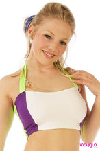 Electrik Purple Halter Top (OPTIONAL)