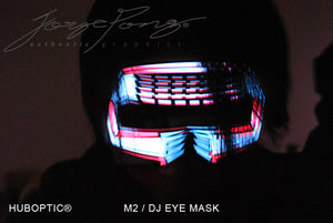 HUBOPTIC® M2 DJ EYE MASK