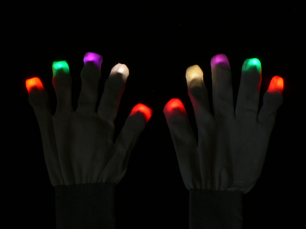 Thunder Custom LED Glove Set