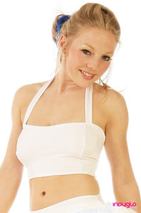 White Halter Top (OPTIONAL)