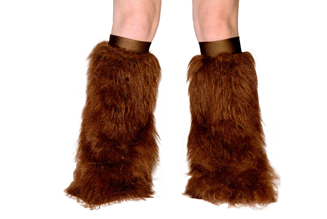 Brown Fluffies W/ Bronze Kneebands