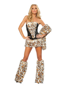 Frisky Kitty Rave Costume Front