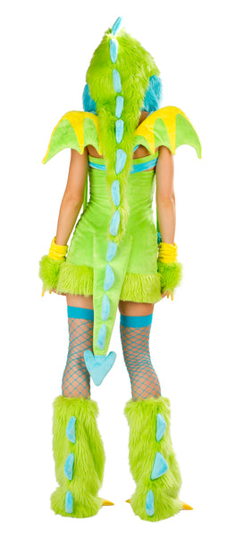 Puff Rave Costume Back