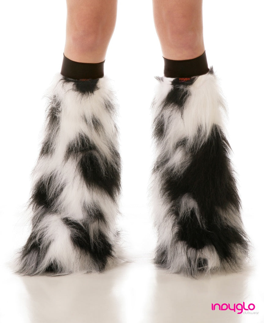 Luminous Fluffy Leg Warmers