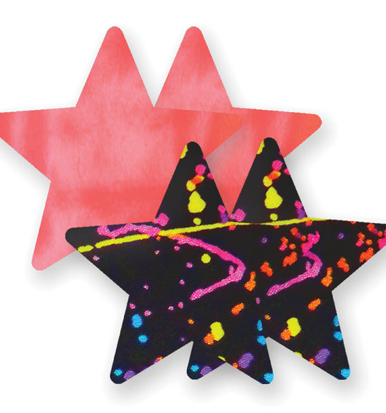 Painted Love Star