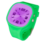 Green w/ Purple