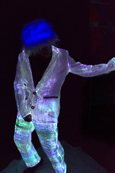 Fiber Optic Suit Jacket and Pants