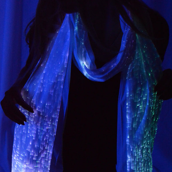 Fiber Optic Light up Scarf