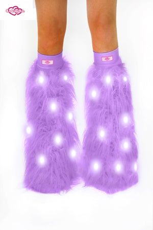 Lilac Light-Up Fluffies