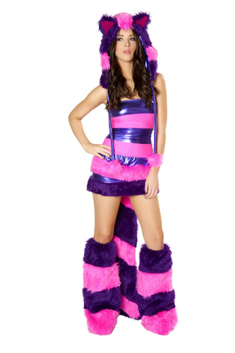 Cheshire Cat Rave Costume Front