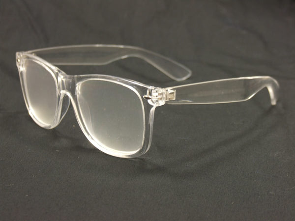 Clear Diffraction Glasses