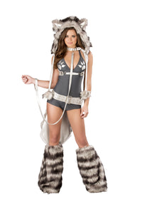 Wolf Romper front