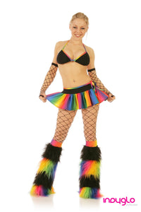 Rainbow Crush Outfit  Black