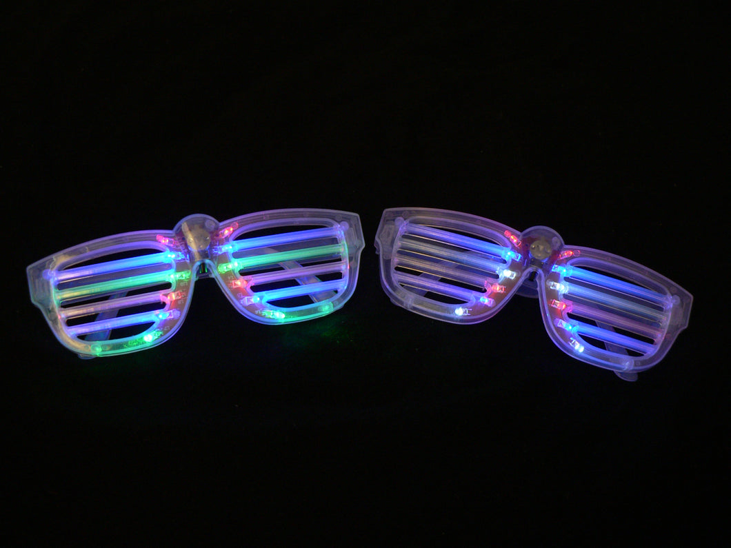 Rockin the LED Glasses