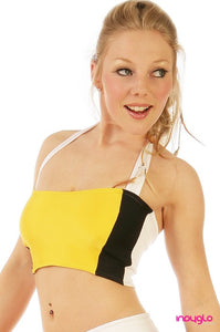 Optional Halter Top in Nitro Gold