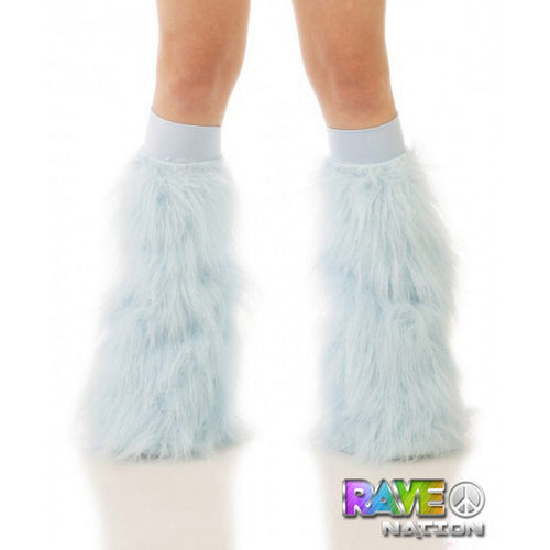 Baby Blue Fluffies with Baby Blue Bands