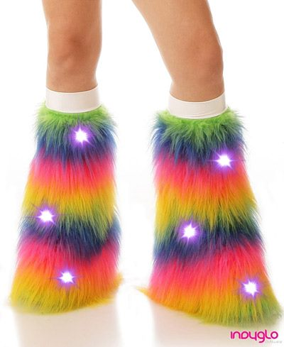 Rainbow LED Fluffies