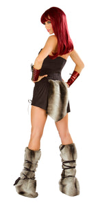 Dragon Slayer Rave Costume Back