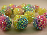 Neon Glass Surface Kandi Beads