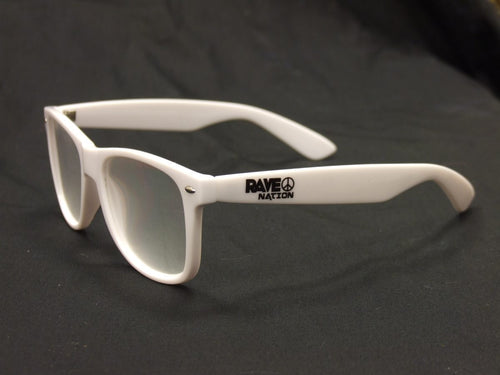 Rainbow Diffraction Vision Glasses- WHITE