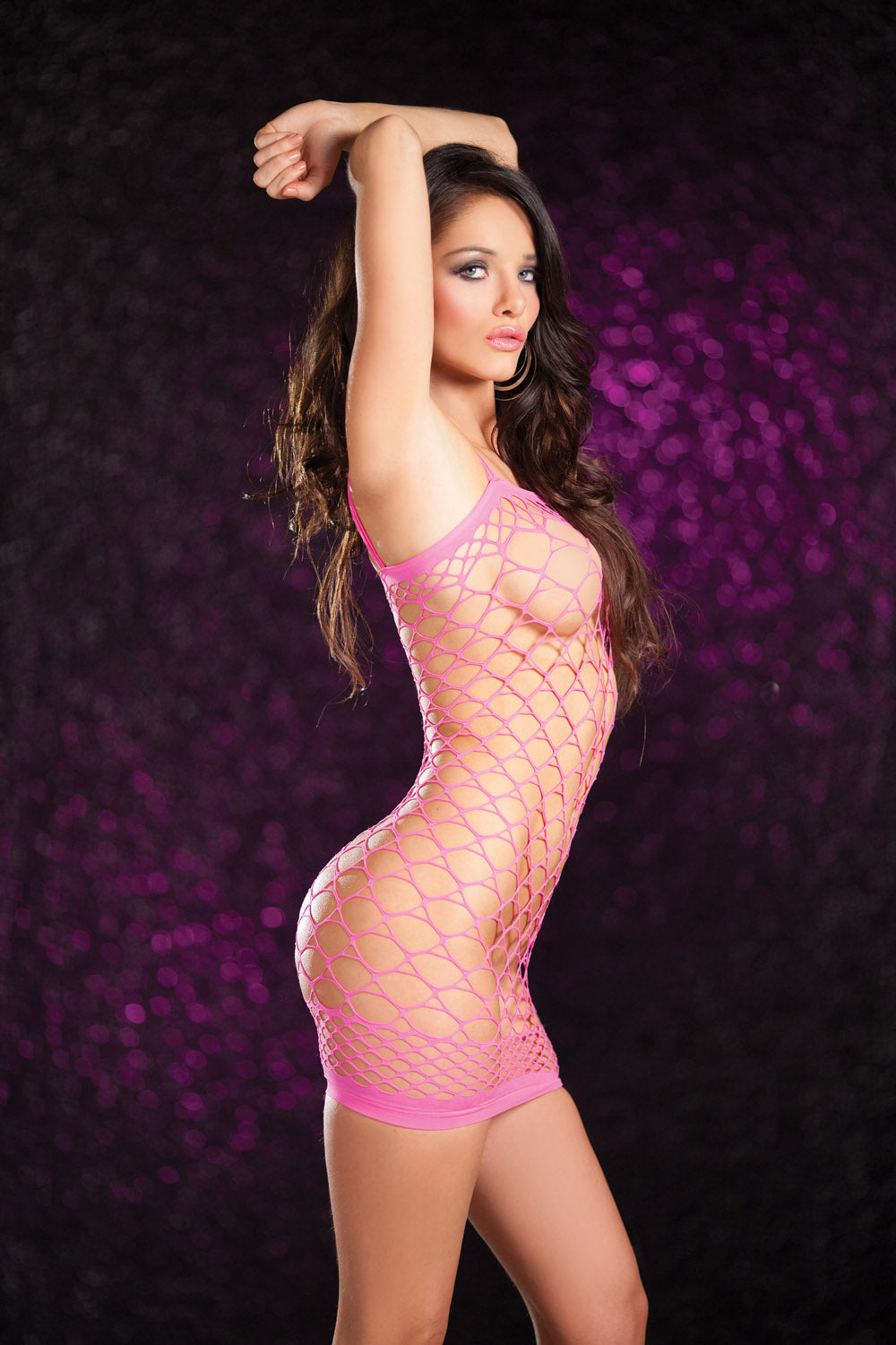Fence Net Dress