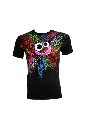 Rainbow Splash Face T-shirt