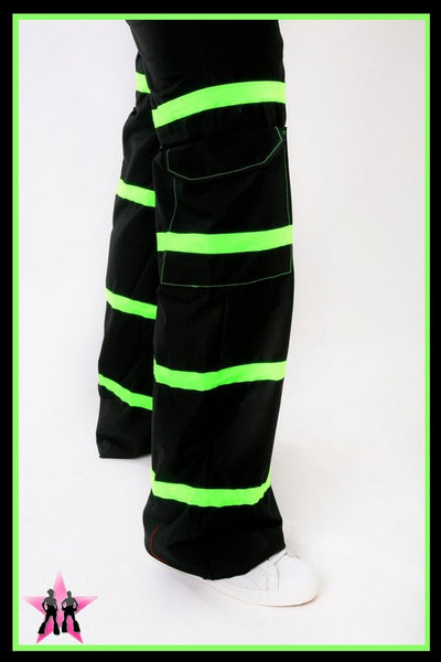 Green Riot Rave Pants