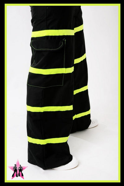 Yellow Riot Rave Pants