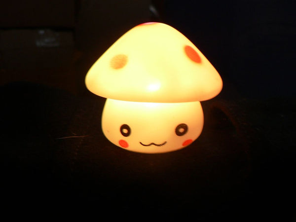 LED Mushroom Orange
